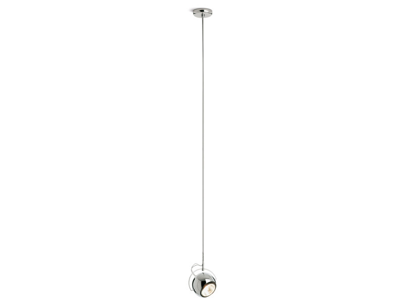 Metal pendant lamp BELUGA STEEL | Pendant lamp by Fabbian