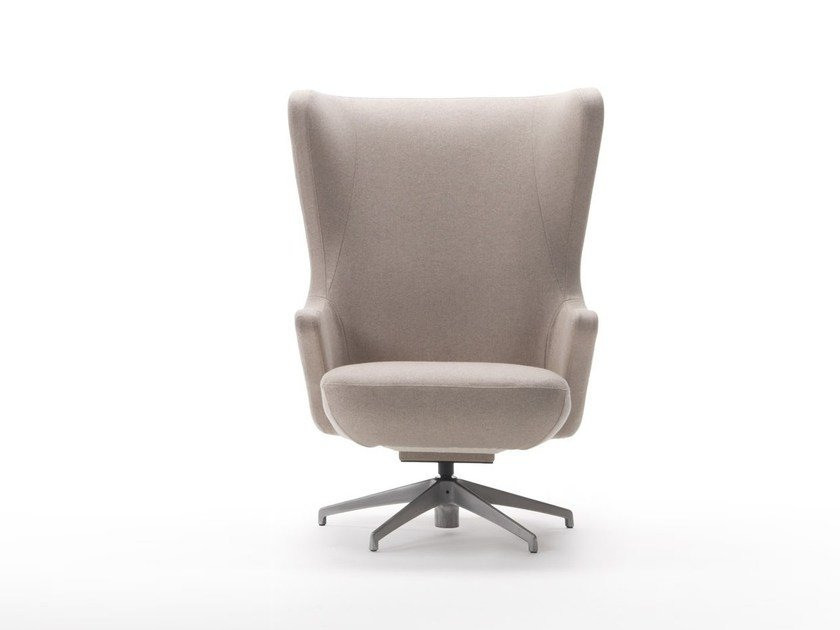 Bergere swivel armchair BELVEDERE | Swivel armchair by Marac