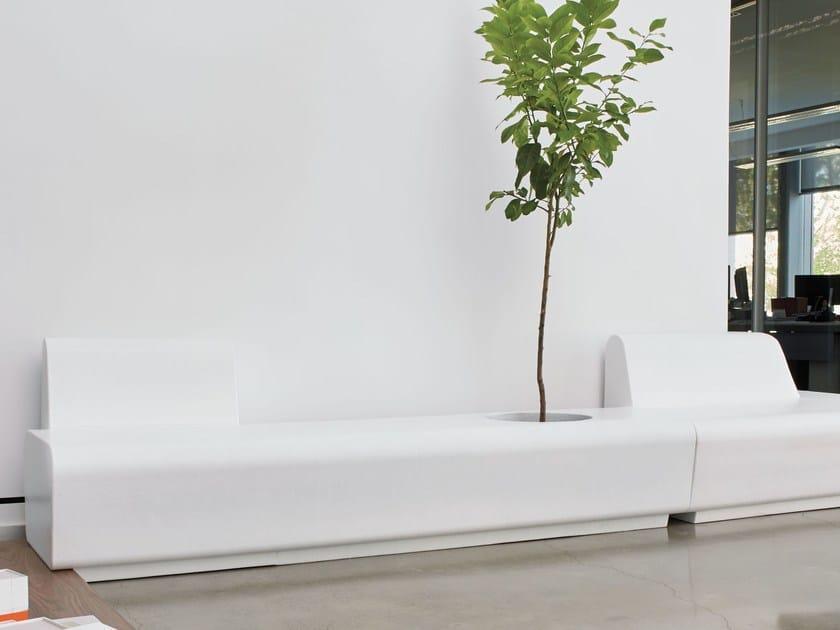Coated foam bench STRIP   Bench - Stratta