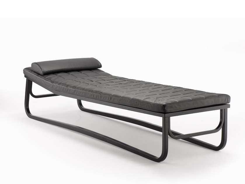 Upholstered leather day bed BENTWOOD CO04 by rosconi