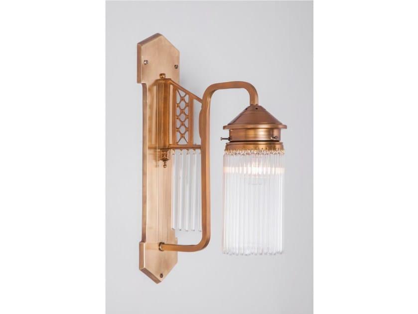 Direct light brass wall lamp BERLIN IV | Wall lamp - Patinas Lighting