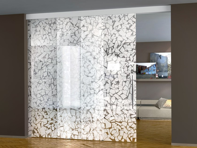Crystal sliding door BETA OTT'ANTA - Casali