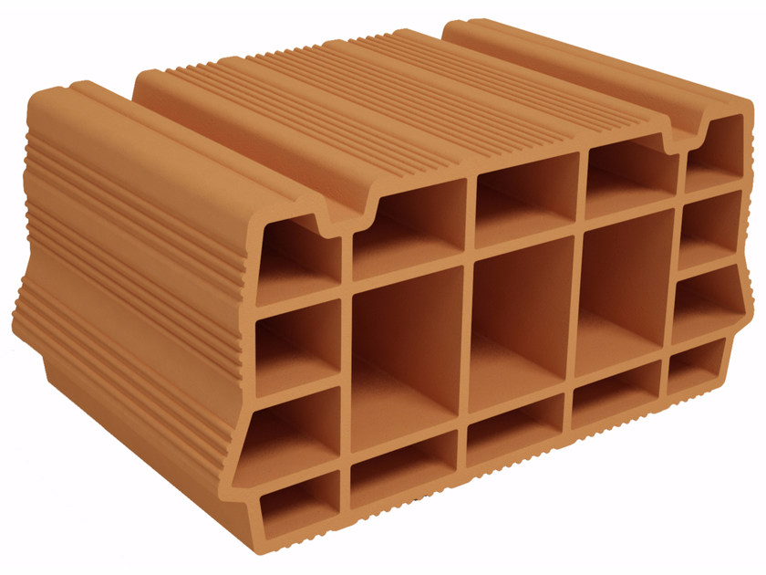 Hollow clay floor slab block BIC S200 by Fornaci Ioniche
