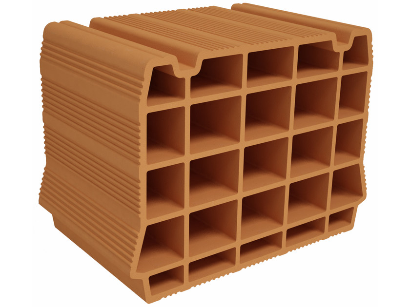 Hollow clay floor slab block BIC S300 by Fornaci Ioniche