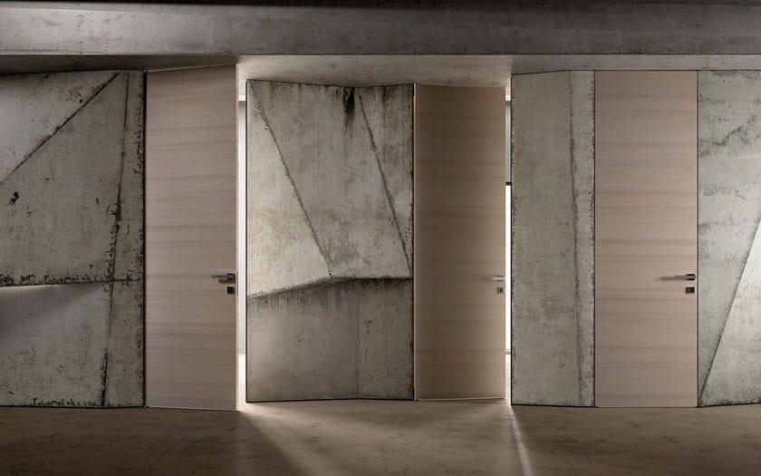 Porta a filo muro reversibile biverso garofoli - Porte filo muro garofoli ...