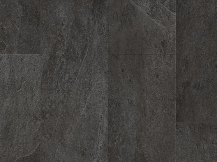 Pavimento in vinile effetto pietra ARDESIA SCIVARO NERA Collezione ...