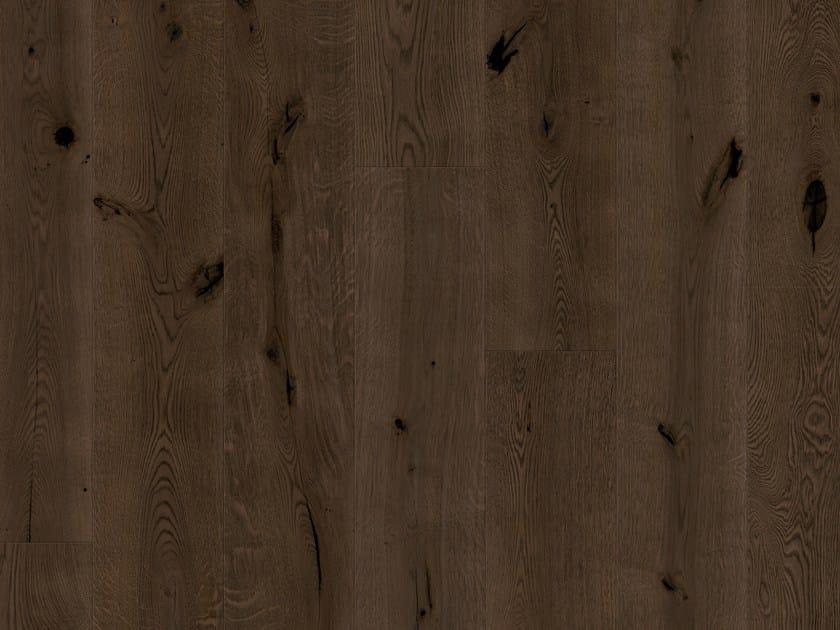 Brushed oak parquet BLACKENED OAK by Pergo