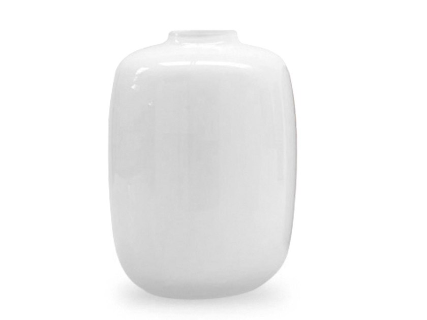 Glass vase BLANCO by Calligaris