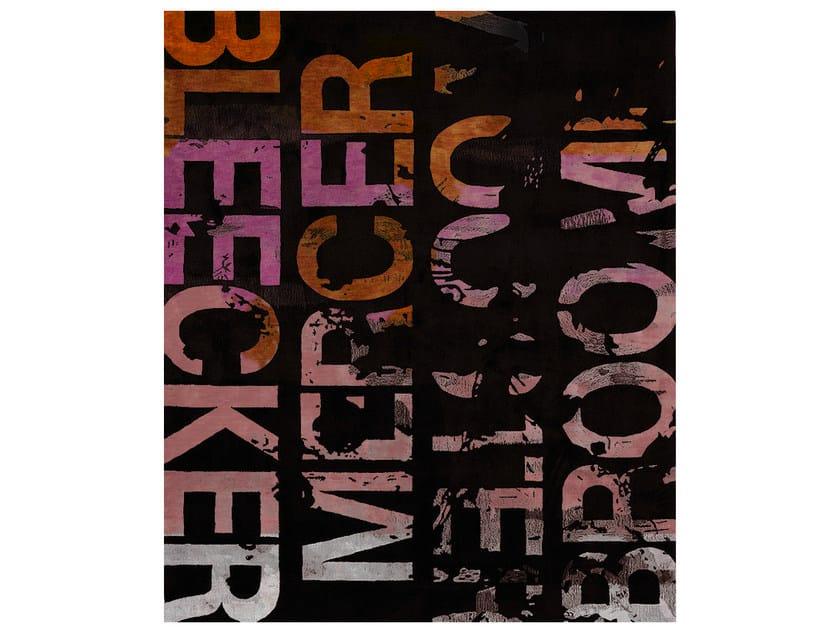 Handmade rectangular rug BLEECKER MULTI - HENZEL STUDIO