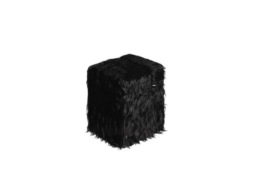 Fur pouf BLOCCO - Driade