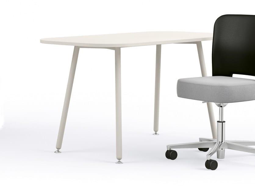 Rectangular meeting table BLOG   Meeting table by Sesta