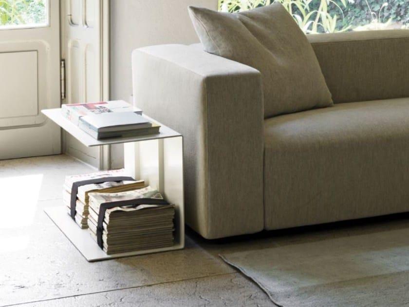 Rectangular metal coffee table BLOG XL by Verzelloni