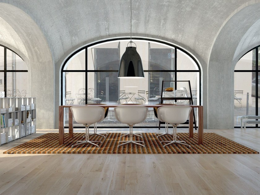 Rectangular rug with geometric shapes BLOGG | Rectangular rug by OBJECT CARPET GmbH