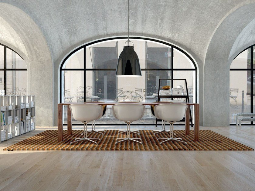 Rectangular rug with geometric shapes BLOGG | Rectangular rug - OBJECT CARPET GmbH