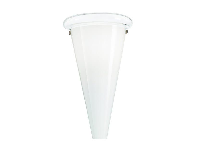 Blown glass wall light ANITA | Blown glass wall light - ROSSINI ILLUMINAZIONE
