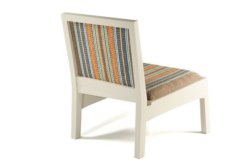 Oak fireside chair BLUE - Mambo Unlimited Ideas