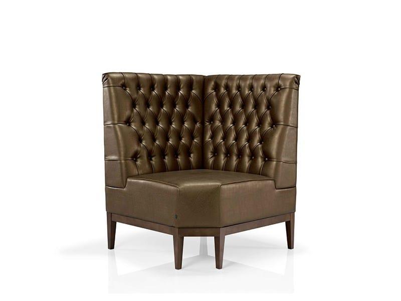 Tufted sectional high-back sofa BLUES | Sectional sofa - J. MOREIRA DA SILVA & FILHOS, SA