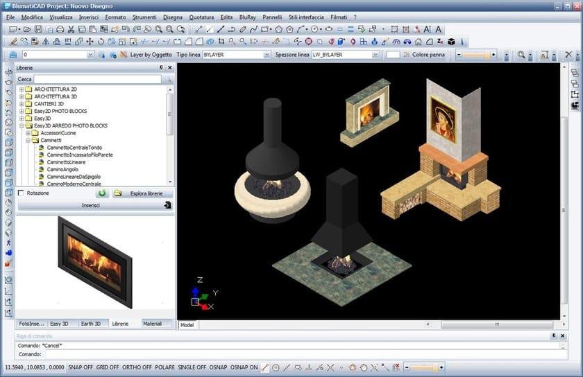 Disegno Tecnico Cad 2d 3d Blumaticad Easy 3d Blumatica