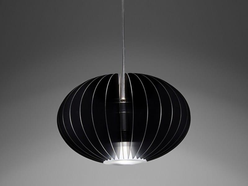LED aluminium pendant lamp Blume S - PURALUCE
