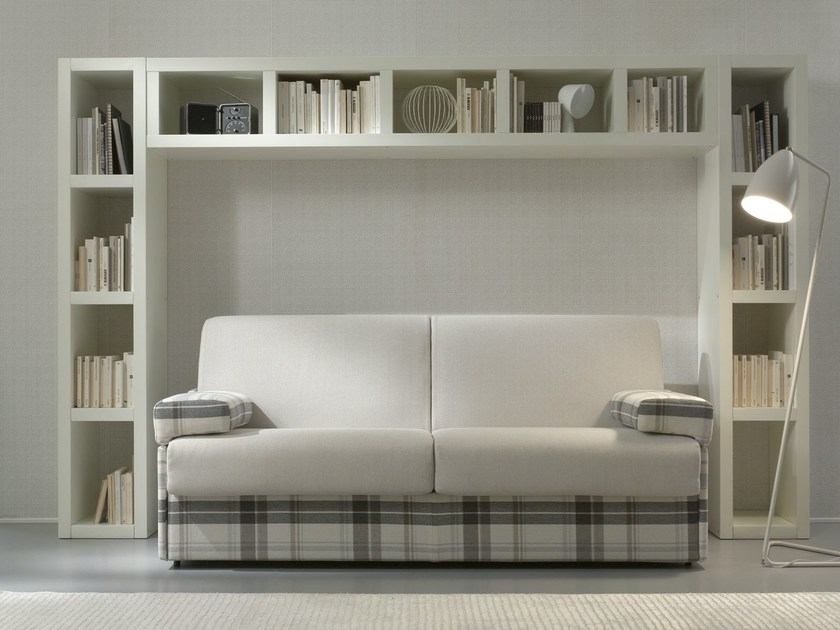 Fabric sofa bed BOB | 2 seater sofa - Felis