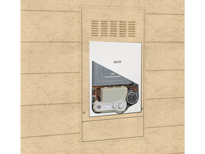 Built-in wall-mounted boiler START IN - RIELLO