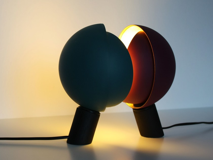 Direct-indirect light swivel table lamp BOLA | Table lamp - Otono Design