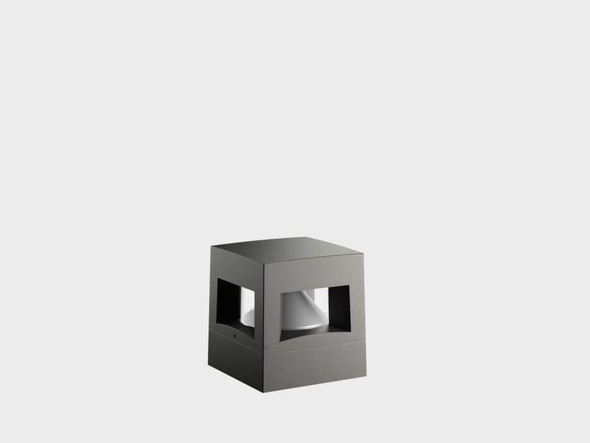Paletto luminoso a LED in alluminio PATH RADENZA - Cariboni group