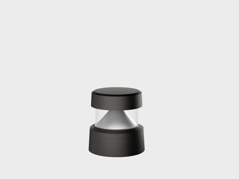 Paletto luminoso a LED in alluminio PEYOTE RADENZA by Cariboni group