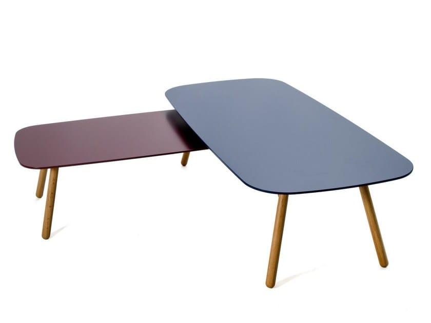 Rectangular MDF coffee table BONDO | MDF coffee table - Inno Interior Oy