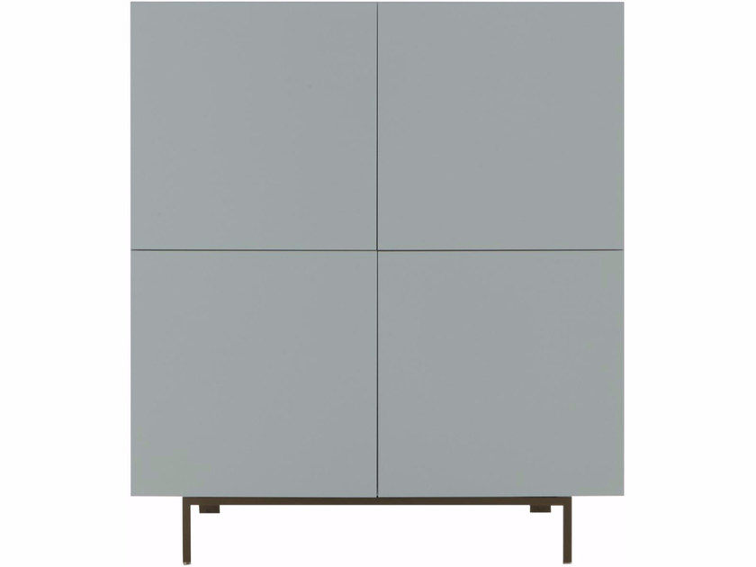 Lacquered highboard with doors BOOK&LOOK | Highboard by Ligne Roset