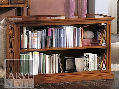 Open solid wood bookcase GIOVE | Bookcase by Arvestyle