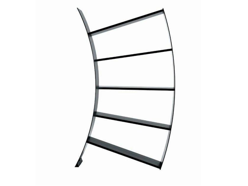 Aluminium bookcase VIRGO - Driade