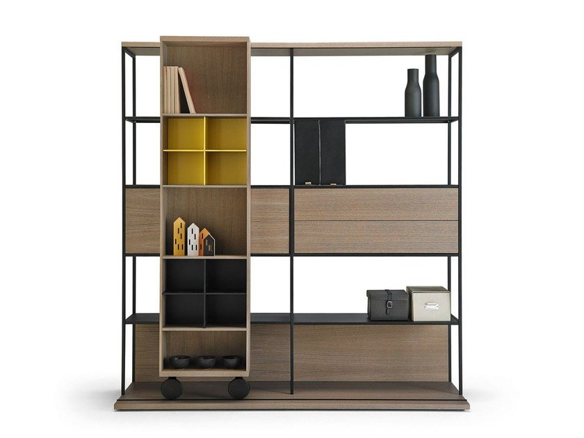 Open divider bookcase LITERATURA OPEN | Bookcase by Punt