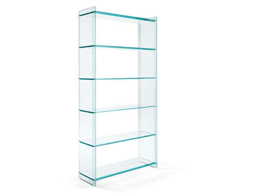 Libreria in vetro QUILLER | Libreria - T.D. Tonelli Design