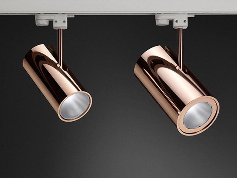 LED aluminium Track-Light BOOMER 25 - PURALUCE