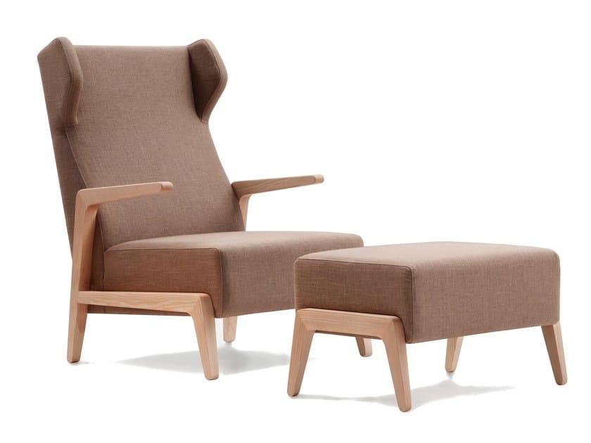 Armchair with headrest BOOMERANG CHILL | Armchair with headrest - SANCAL