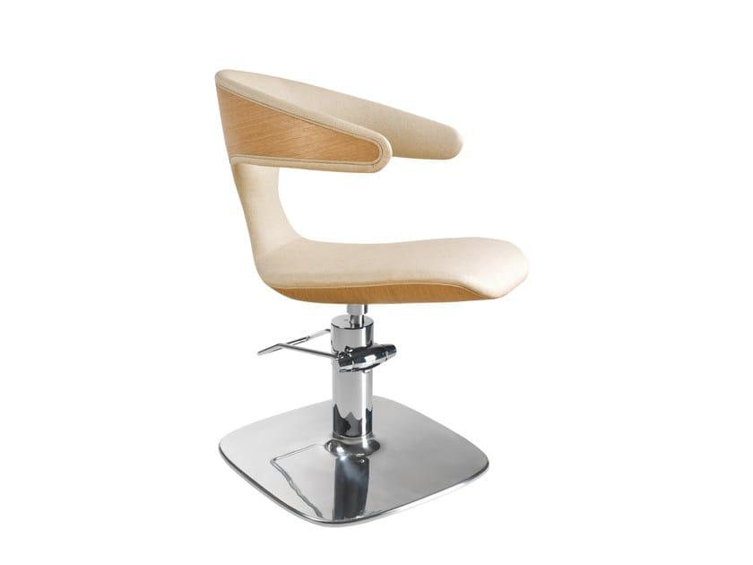 Hairdresser chair GREEN BOOMERANG by Maletti