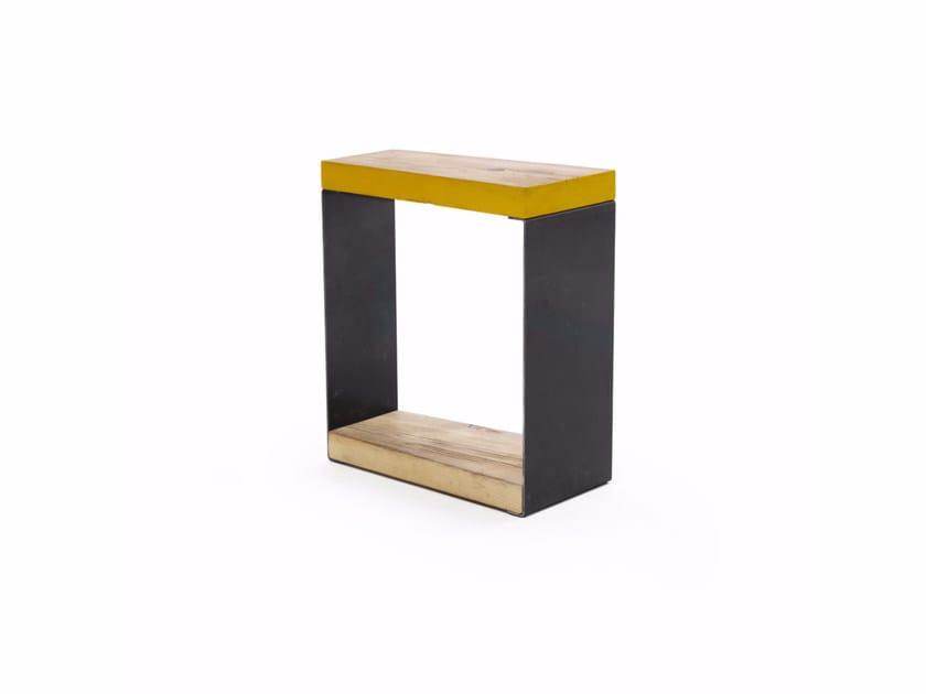 Low stool with storage space BORIS | Stool - Vontree