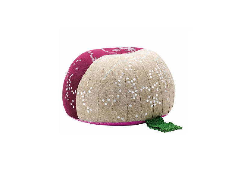 Fabric pouf BOVIST LACEMAKER by Vitra