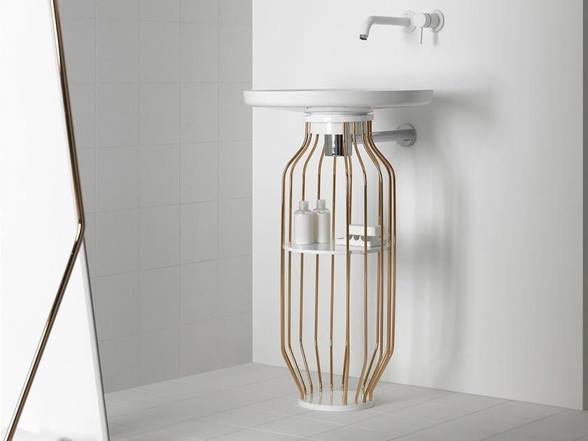 Ceramilux® vanity unit BOWL | Vanity unit by INBANI
