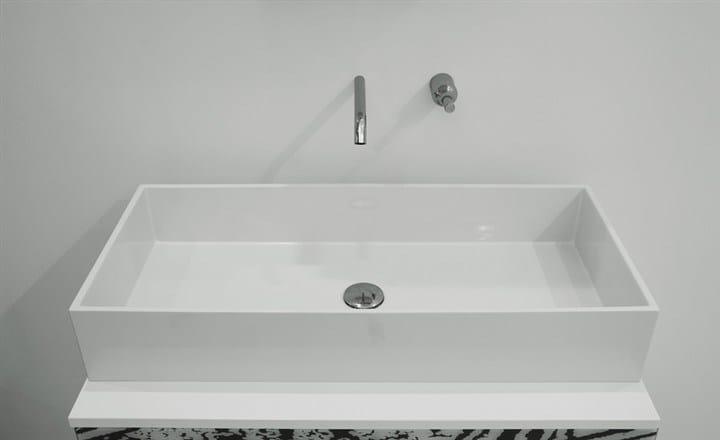 Countertop washbasin BOX 80 | Countertop washbasin - GSG Ceramic Design