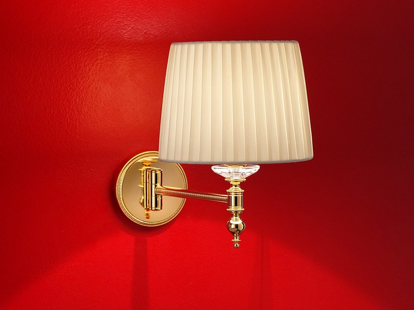 Direct light incandescent brass wall lamp BRASS & SPOTS VE 1090 | Wall light - Masiero