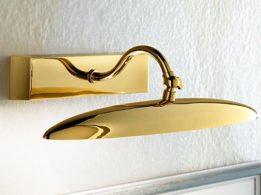 LED direct light metal wall lamp BRASS & SPOTS VE 867 by Masiero
