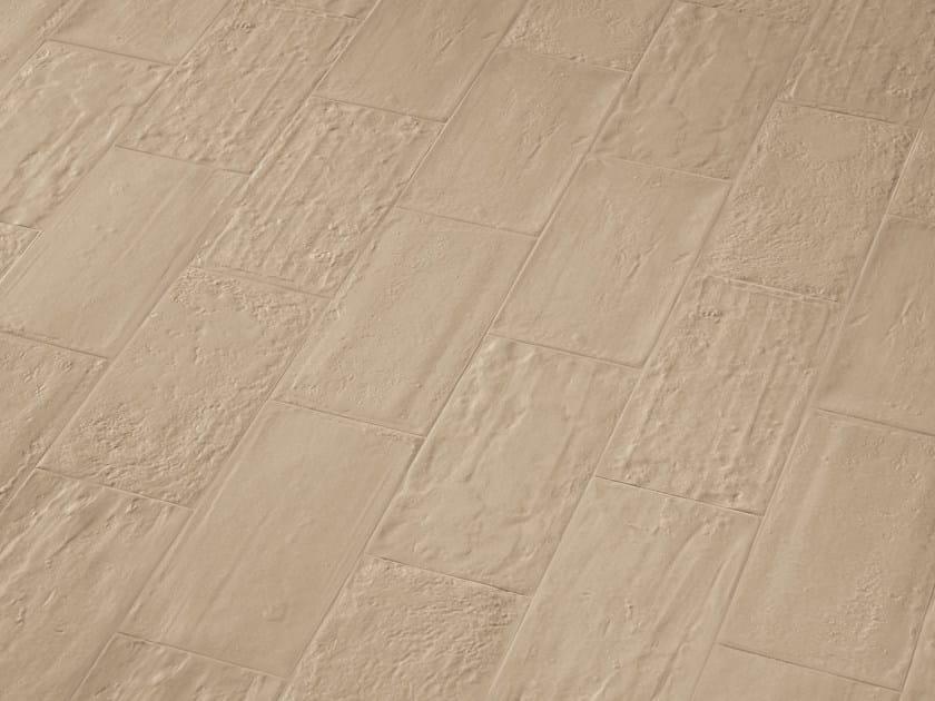 Rev tement de sol mur en gr s c rame effet brique pour for Type de revetement de sol interieur