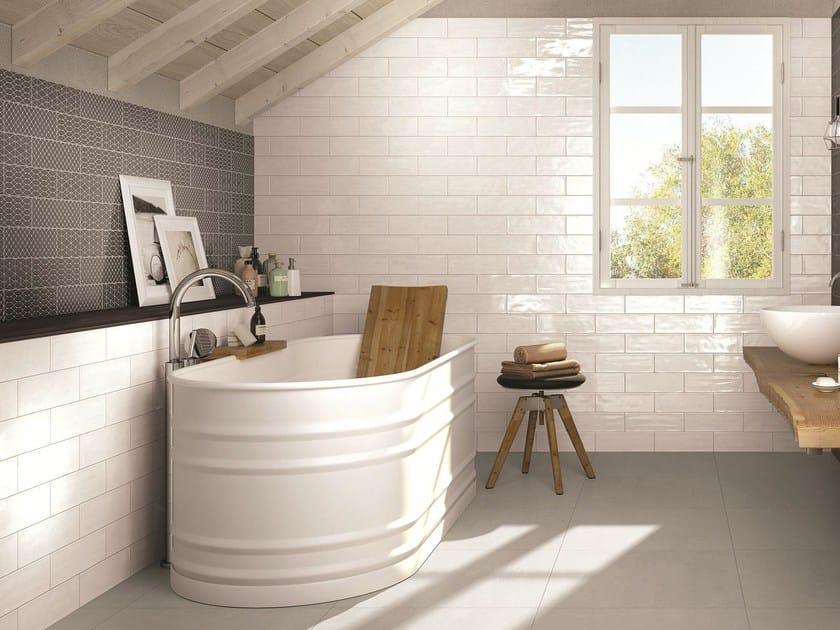 Rivestimento in ceramica a pasta bianca per interni brick - Limpiar azulejos de cocina ...