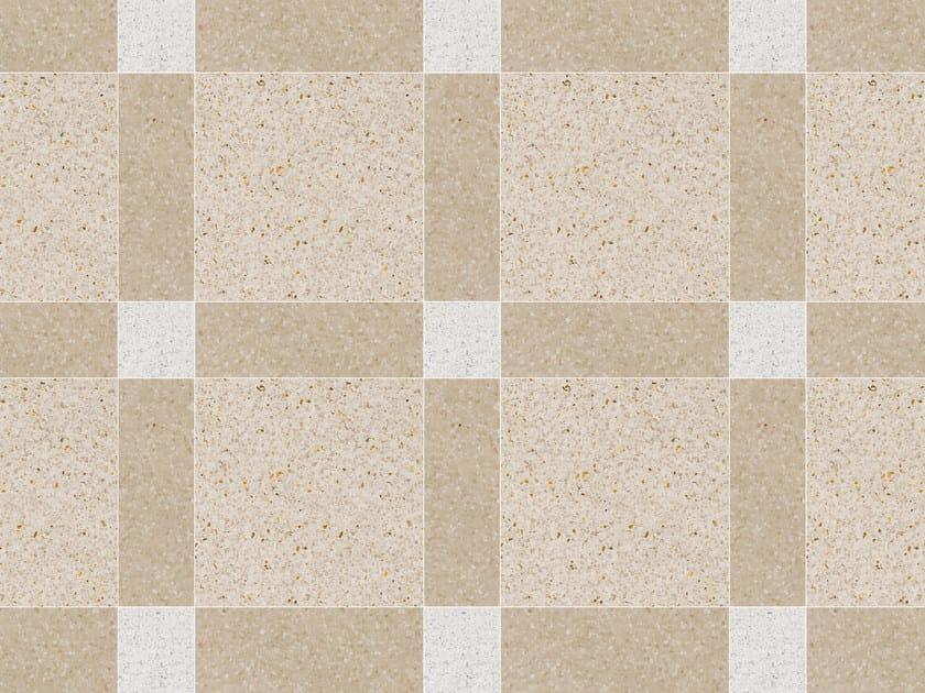 Pavimento/rivestimento in graniglia BRICKS Collezione Modulo by Mipa
