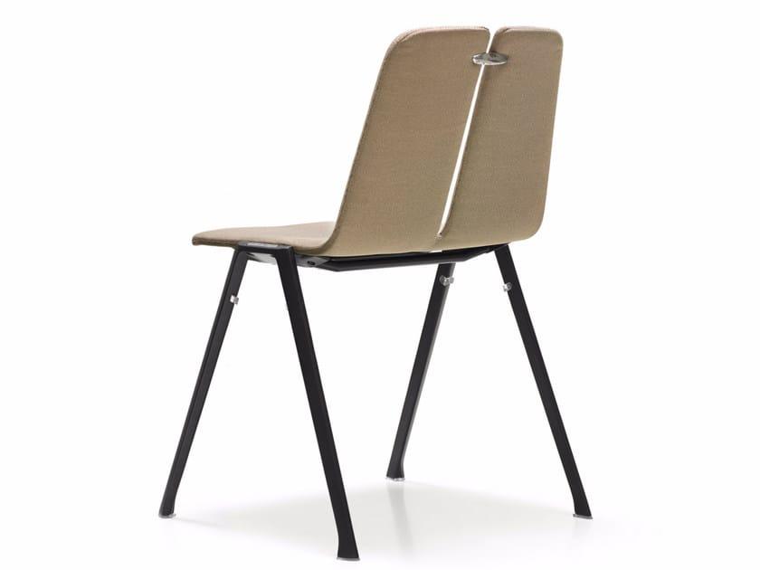 Fabric chair BRIDGE   Chair by Quinti Sedute