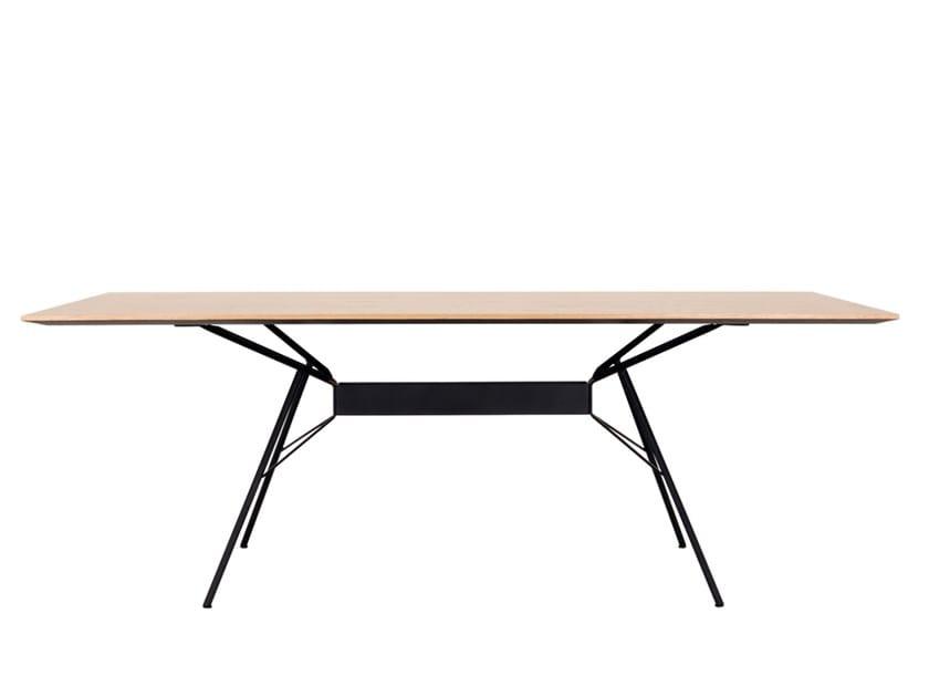 Rectangular dining table BRIDGE | Rectangular table by Novel Cabinet Makers