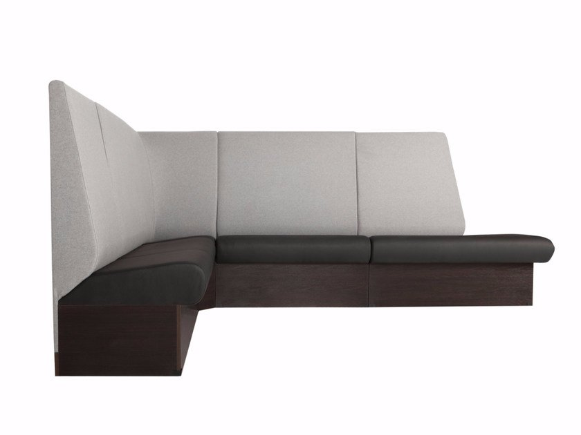 Corner sectional fabric leisure sofa BRITTA - SITS