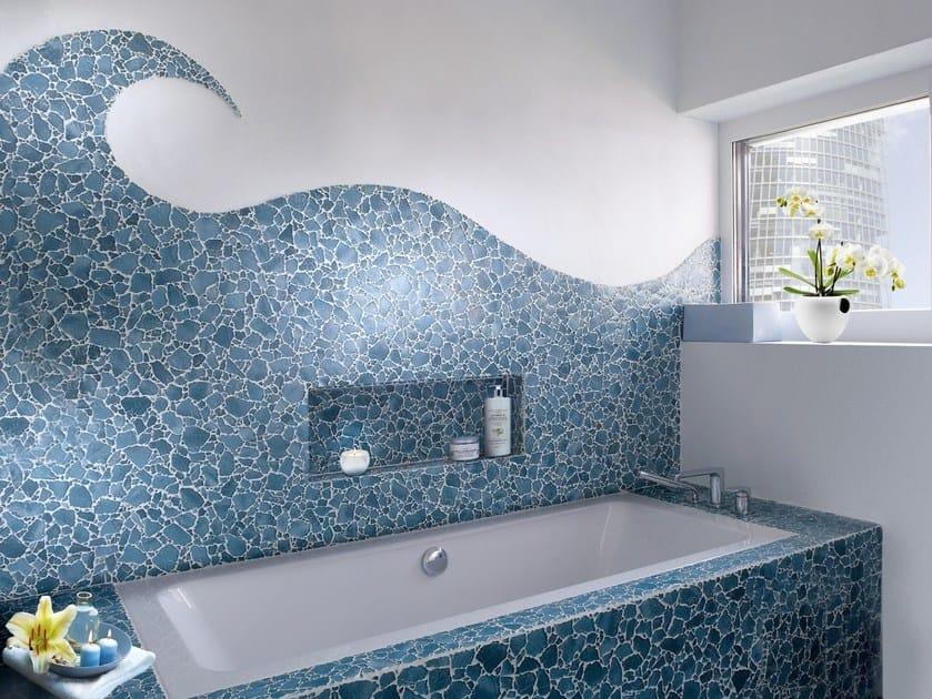 Glass mosaic BROOK | Mosaic by VETROVIVO